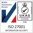 ISO 27001 Information security - Health and Safety app from Be-Safe Tech